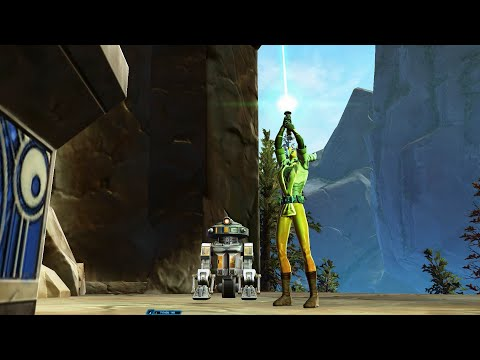 SWTOR - Getting a green lightsaber as a Jedi Knight