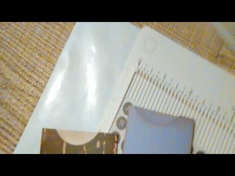 How I Make Small Pockets / Coin Envelopes