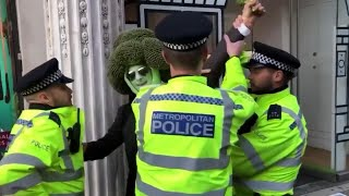 Protesting Broccoli Gets Busted