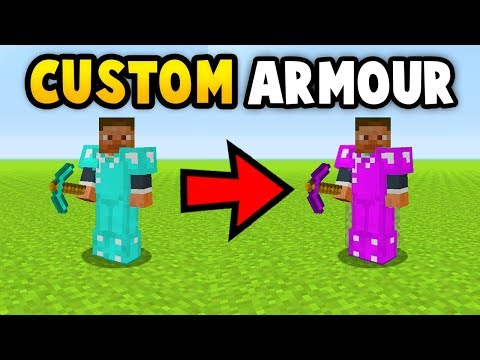 MINECRAFT HOW TO GET CUSTOM TOOLS/ARMOUR (Ps3/Xbox360/PS4/XboxOne/WiiU)