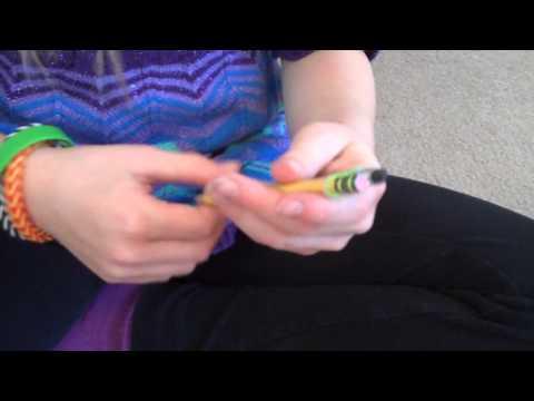 How to do Fishtail Bracelets on Pencils
