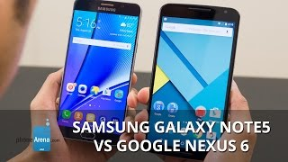 Samsung Galaxy Note5: review and comparisons