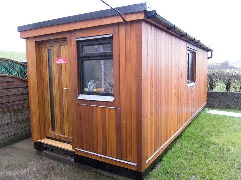 Timelapse DIY Build Cedar Sided Shed/Woodshop