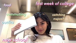 my first week of college VLOG 📚*junior year*