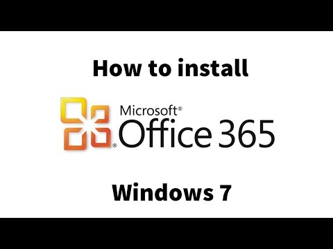 How to install Microsoft Office 365 on Windows 7 (Student/Faculty)