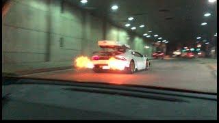 Twin Turbo Huracan Shootsflames, Supra Vs Huracan