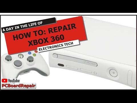 XBOX 360 HowTo Repair: DVD Disc Drive: Open Tray Error