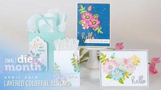 Spellbinders April 2019 Large Die + Glimmer Hot Foil Kit of the