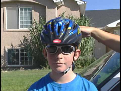 Bicycle Safety 1:  Wear a properly fitting helmet