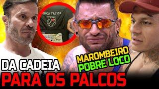 DA CADEIA AOS PALCOS - VAMOS COLOCAR O MAROMBEIRO POBRE LOUCO NOS PALCOS