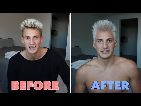 DIY HOW TO BLEACH YOUR HAIR AT HOME!