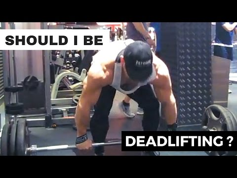 BODYBUILDING BACK WORKOUT with DEADLIFTS
