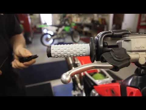 Install  Pro Taper Bar & Grips