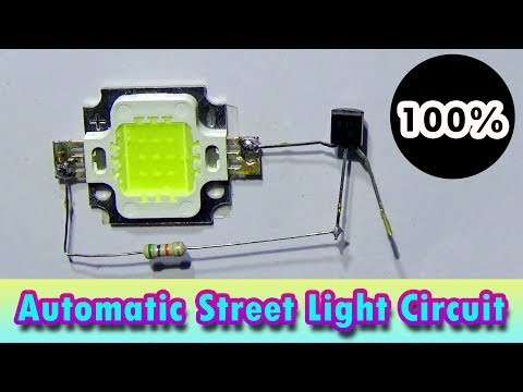 How To Make Automatic Street Light Circuit (Very Simple)