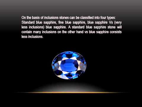 How To Buy Blue Sapphire Engagement Ring