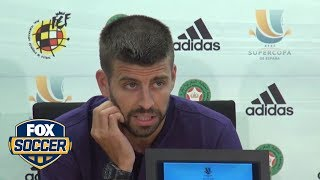 Gerard Pique retires from Spanish National Team | FOX SOCCER