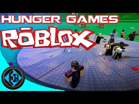 Roblox - MESSING AROUND IN THE HUNGER GAMES