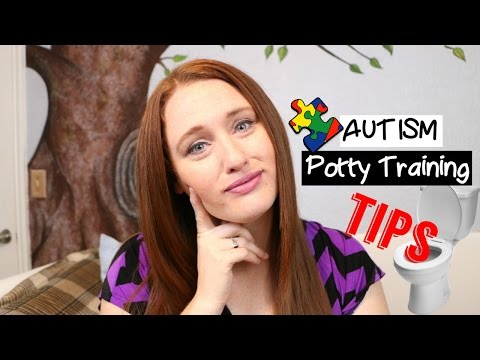 AUTISM POTTY TRAINING TIPS FOR AUTISTIC TODDLERS + AUTISTIC KIDS