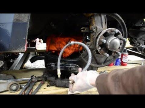Porsche 944 Brake Hose Replacement (Rubber Hose Part)