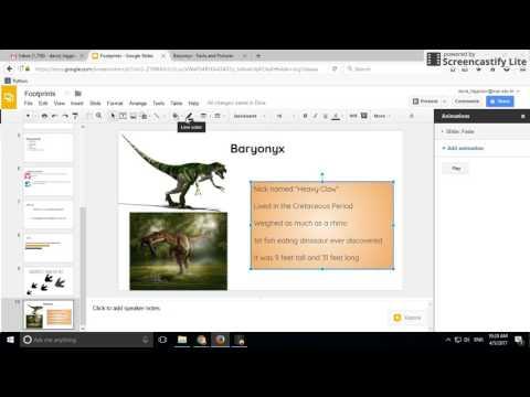 Google Slides Text Box Formatting