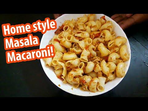 Homestyle Masala Macaroni