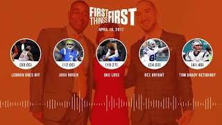 First Things First audio podcast(4.19.18) Cris Carter, Nick Wright, Jenna Wolfe | FIRST THINGS FIRST