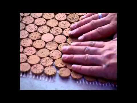 Versacork Concepts Mosaic Cork Installation