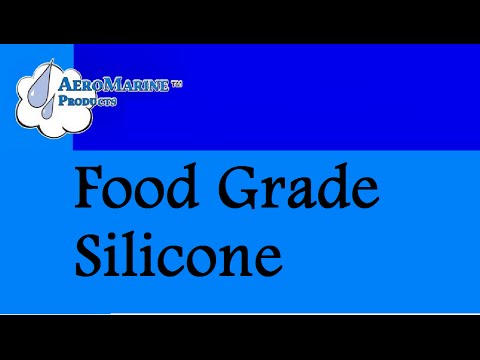 How to Make a  Food Grade Silicone Mold by AeroMarine Products