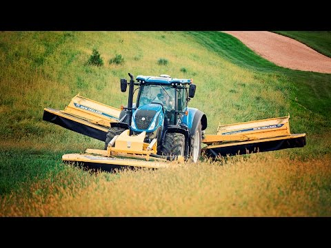 How To Operate A Tractor - New Holland T7.315