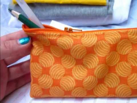 Zipper Pencil Case Tutorial | Sew Easy Please