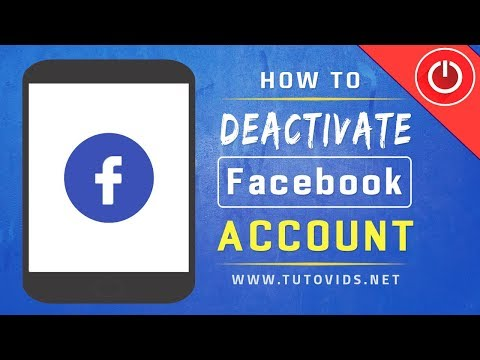 How To Deactivate Facebook Account On Mobile App