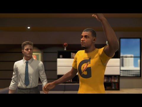 NBA 2K15 PS4 My Career - Nike, Jordan, or Adidas?