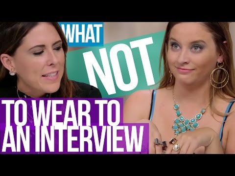 What NOT To Wear To A Job Interview (Beauty Break)