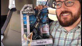 Mattel Jurassic World: Fallen Kingdom TOY HUNT #2! INDORAPTOR FOUND!
