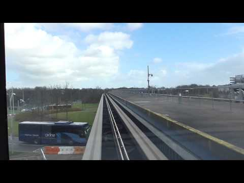 Riding The Gatwick Airport Terminal Shuttle - 07/02/16