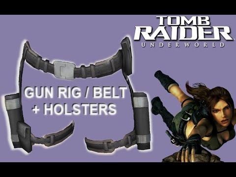 Tomb Raider Underworld Belt and Holsters Tutorials