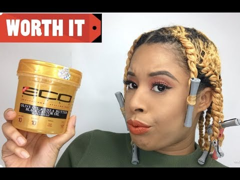 Reviewing The New Eco Style Gel(Gold)/Fine hair approved?