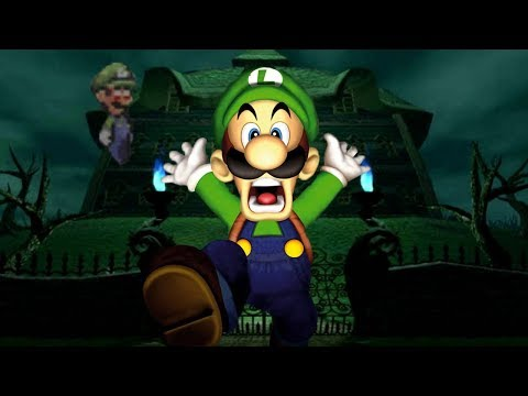 THERE'S A CREEPY GHOST HAUNTING THIS MANSION | LUIGI INSANITY