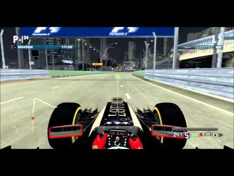 f1 2012 lap of singapore xbox 360