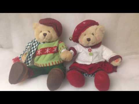 Avon Charming Carolers Singing Bears