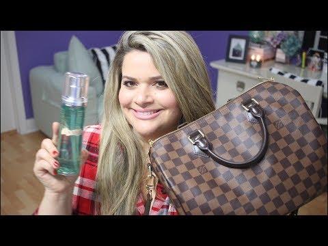 November 2017 Beauty Favorites + Louis Vuitton Handbag / November Ipsy Glam Bag and Boxy Charm