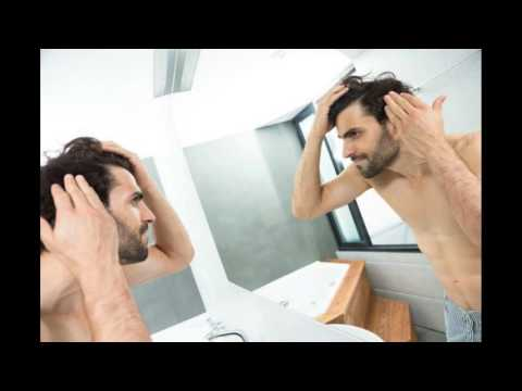 Stress Causes Hair Loss In Man