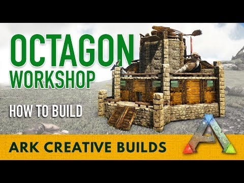 How to Build Octagon Workshop - Ark Creative Builds - PakVim
