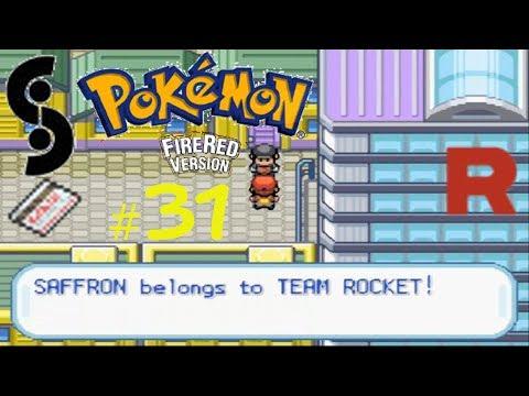 Pokémon Firered Episode 31: Saffron City Takeover