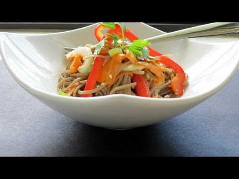 Soba Noodle Recipe (Vegan) -- The Frugal Chef