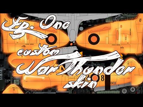Echophox Creates - War Thunder Custom Plane Skin - Spitfire Griffon Mk.XIV