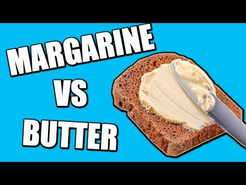 NEVER EAT MARGARINE AGAIN ! Margarine VS Butter