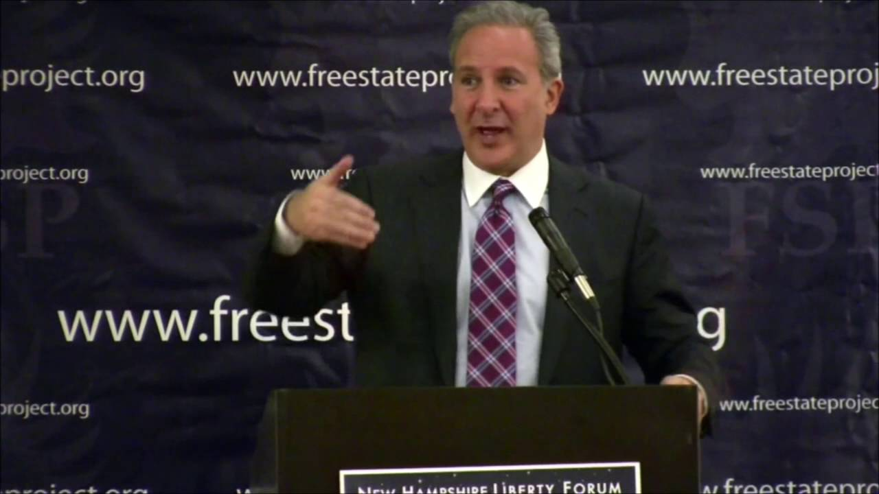 Peter Schiff's Keynote Speech at the New Hampshire Liberty Forum in 2012