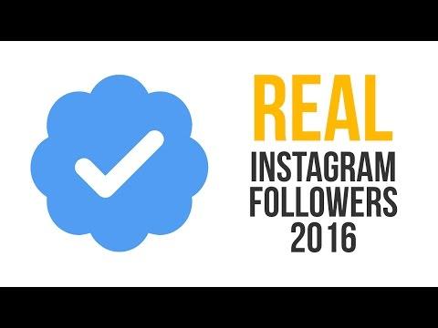Buy Real Instagram Followers 2017