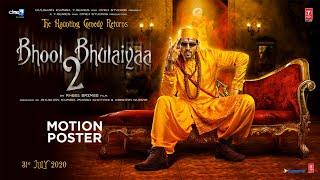 Bhool Bhulaiyaa 2 - Motion Poster | Kartik A | Bhushan K,Murad K,Aakash K | Anees B | 31st July 2020